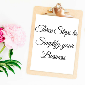 Three Steps to Simplify your Business (2)